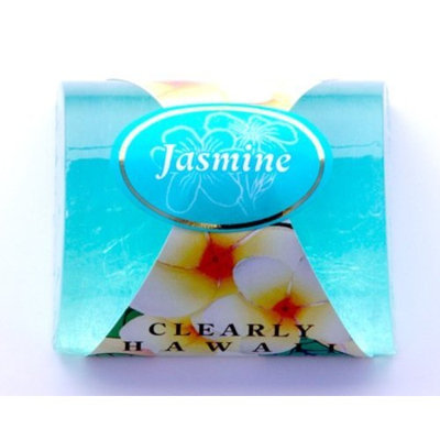 Maui Tropical Soaps Clearly Hawaiian Glycerin Soap Jasmine, 5-Ounce (Pack of 3)