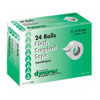 Dynarex Corporation Surgical ''Silk'' Cloth Tape