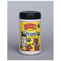 Pets' N People Inc Natures Miracle Pet Bath Wipes, 70-Count Containers