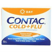 Contac Cold & Flu, Non-Drowsy Maximum Strength, Caplets