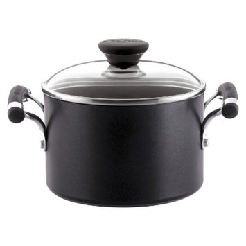 Circulon Acclaim Hard Anodized 3 Quart Covered Saucepot - Black