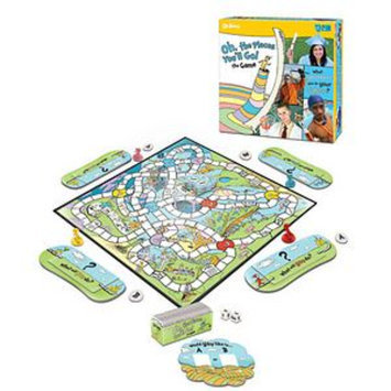 I Can Do That Games Dr. Seuss, Oh The Places You'll Go, Ages 8+, 1 ea