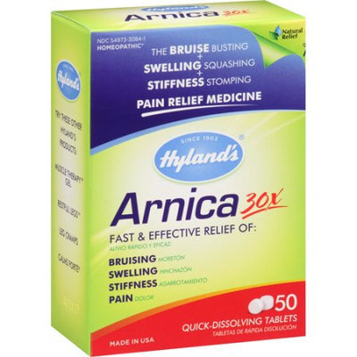 Generic Hyland's Arnica 30x Pain Relief Medicine Tablets, 50 count
