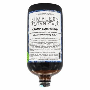 Simplers Botanicals - Cramp Compound Liquid Herbal Extract - 32 oz.