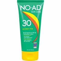 NO-AD Sun Care Sunscreen Lotion, SPF 30, 5 fl oz