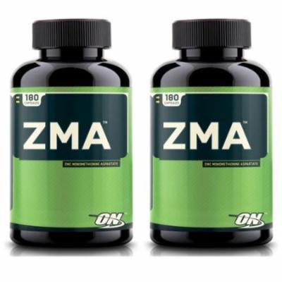 Optimum Nutrition 360 ZMA Caps Zinc Monomethionine Aspartate Strength Capsules