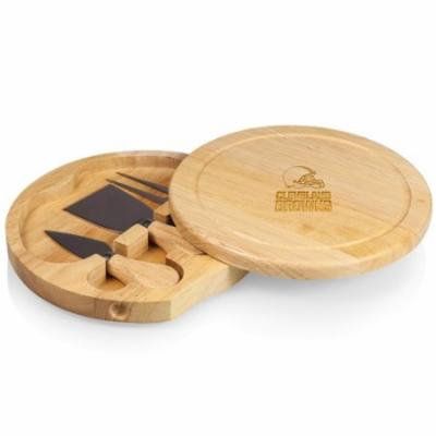 NFL Cheese Board Set by Picnic Time, Brie - Cleveland Browns