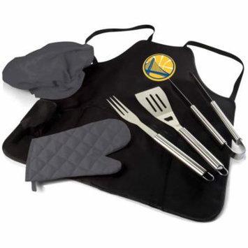 Golden State Warriors BBQ Apron Tote Pro (Black)