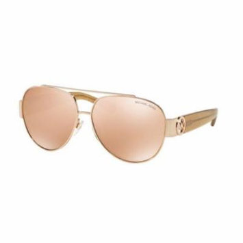 MICHAEL KORS Sunglasses MK 5012 1066R1 Rose Gold /Taupe Glitter 59MM