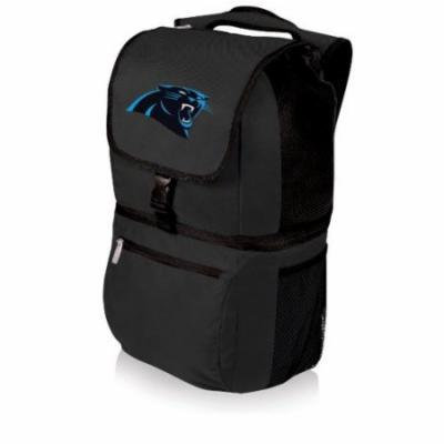NFL Backpack Cooler by Picnic Time - Zuma, Carolina Panthers - Black