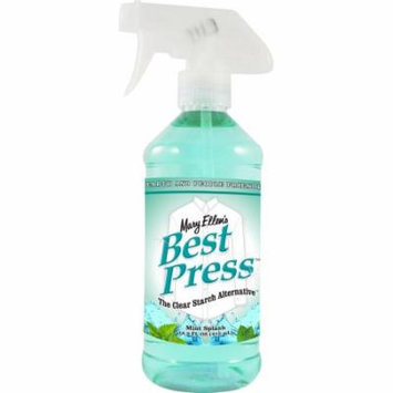 Mary Ellen Products 600BP-80 Best Press Starch Alternative, 16-Ounce, Mint Splash Multi-Colored