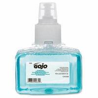 131603CT Gojo LTX-7 Pomeberry Foam Hand Wash Refill - Pomegranate Scent - 23.7 fl oz (700 mL) - Pump Bottle Dispenser - Clear Blue - 3 / Carton - Moisturizing, Rich Lather, Fragrance-free, Dye-free, E