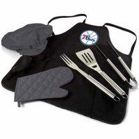 Philadelphia 76ers BBQ Apron Tote Pro (Black)