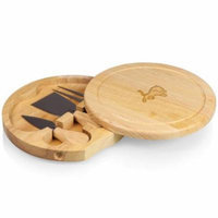 NFL Cheese Board Set by Picnic Time, Brie - Detroit Lions