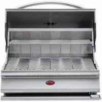 CalFlame G-Series 31'' Built-In Charcoal Grill