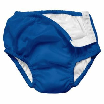 Iplay Baby Boys Pool Approved Absorbent Cloth Reusable Swim Diaper Bathing Suit Bathing Suit Royal Blue 18 Months