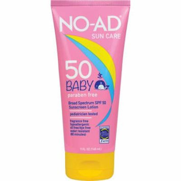 NO-AD Sun Care Baby Sunscreen Lotion, SPF 50, 5 fl oz