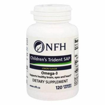 NFH - Children's Trident SAP Omega-3 Lemon Flavor - 120 Chewable Softgels
