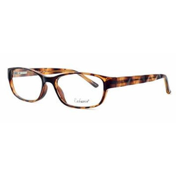 Enhance Optical Designer Eyewear :: 3959 Eyeglasses in Tortoise ; DEMO LENS
