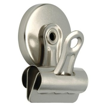 Liberty Hardware 2-pk. Magnetic Wide Clip - Nickel