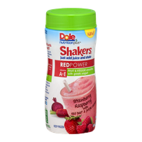 Dole Nutrition Plus Shakers Smoothie Red Power Strawberry Raspberry with Red Beet & Purple Carrot