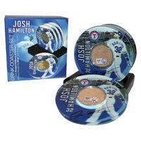 MLB Los Angeles Angels Josh Hamilton Player Coaster with Game Used Dirt
