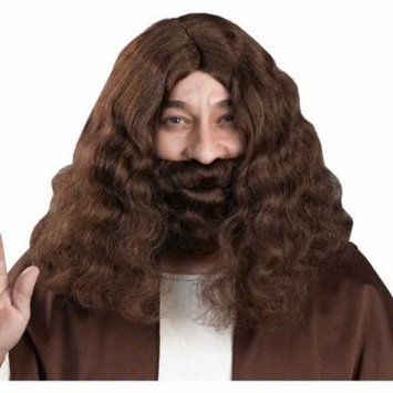 Biblical Jesus Brown Wig