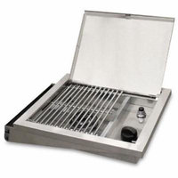 Broilmaster Propane Gas Infrared Side Burner - Stainless Steel