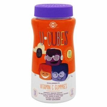 Solgar - U-Cubes Children's Vitamin C Gummies Orange and Strawberry - 90 Gummies