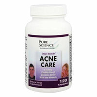 Pure Science International - Clear Beauty Acne Care - 120 Capsules