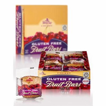 Betty Lous 813352 Gluten Free Fruit Bars Cherry 12 Bars Case Of 12