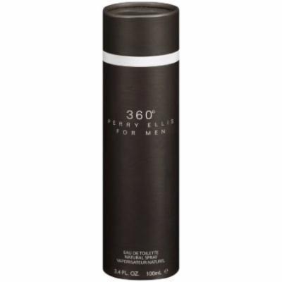 Perry Ellis 360 For Men Eau De Toilette, 3.4 fl oz