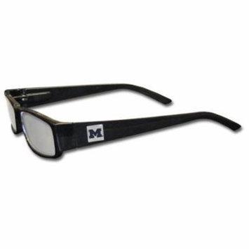 Michigan Wolverines Black Reading Glasses +1.50 (F)