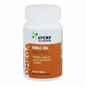 LuckyVitamin - Krill Oil 500 mg. - 30 Softgels