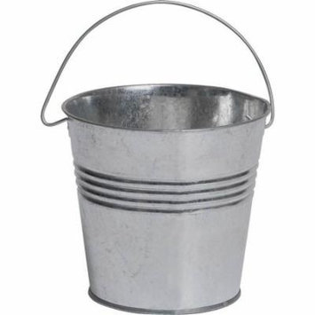 5IN GALVANIZED BUCKET CANDLE
