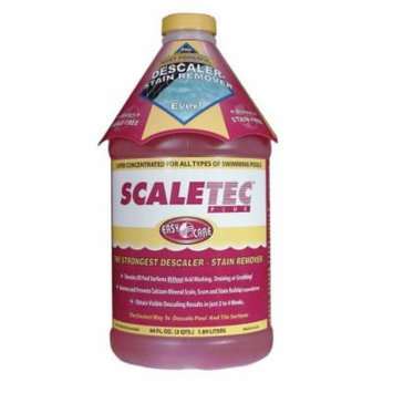 EasyCare 20064 Scaletec Plus Descaler and Stain Remover, 64 oz. Bottle, 732337200647