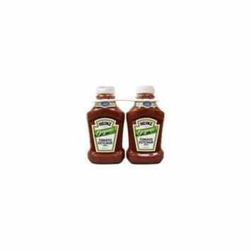 Heinz Organic Ketchup - 2/44oz