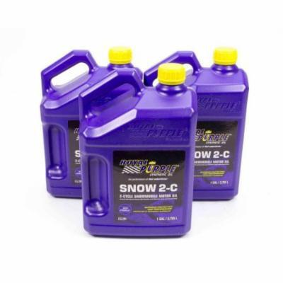 Royal Purple Snow 2-C 2 Stroke Oil 1 gal Case of 3 P/N 43511