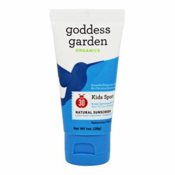 Goddess Garden - Kids Sport Natural Sunscreen 30 SPF - 1 oz.