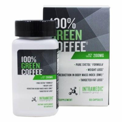 Intramedic - 100% Green Coffee - 60 Capsules