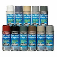 Hi Tech Vinyl, Plastic, & Carpet Dye, Dark Gray