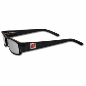 Wisconsin Badgers Black Reading Glasses +1.25 (F)