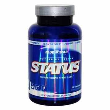 Blue Star Nutraceuticals - Status Pharmaceutical Grade Test Booster - 90 Capsules