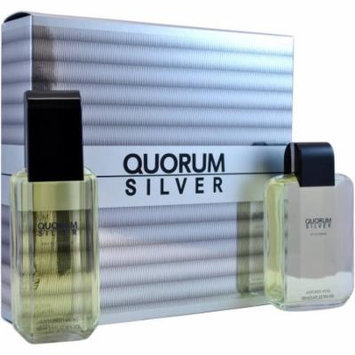 Antonio Puig Quorum Silver Gift Set, 2 pc