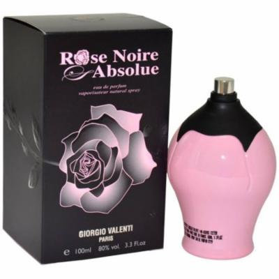 Giorgio Valenti Rose Noire Absolue Eau de Toilette Spray for Women, 3.4 fl oz