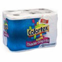 TISSUE BATH COLORTEX PK 12