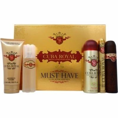 Cuba Royal for Men Fragrance Gift Set, 5 pc