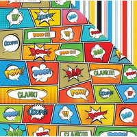 Superhero Double-Sided Cardstock 12