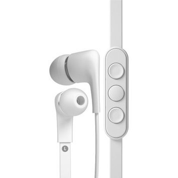Jays a- Five iOS In-Ear Noise Isolating Earphones, White