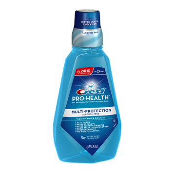 Crest Pro-Health Multi-Protection Refreshing Clean Mint Flavor Mouthwash 1 L